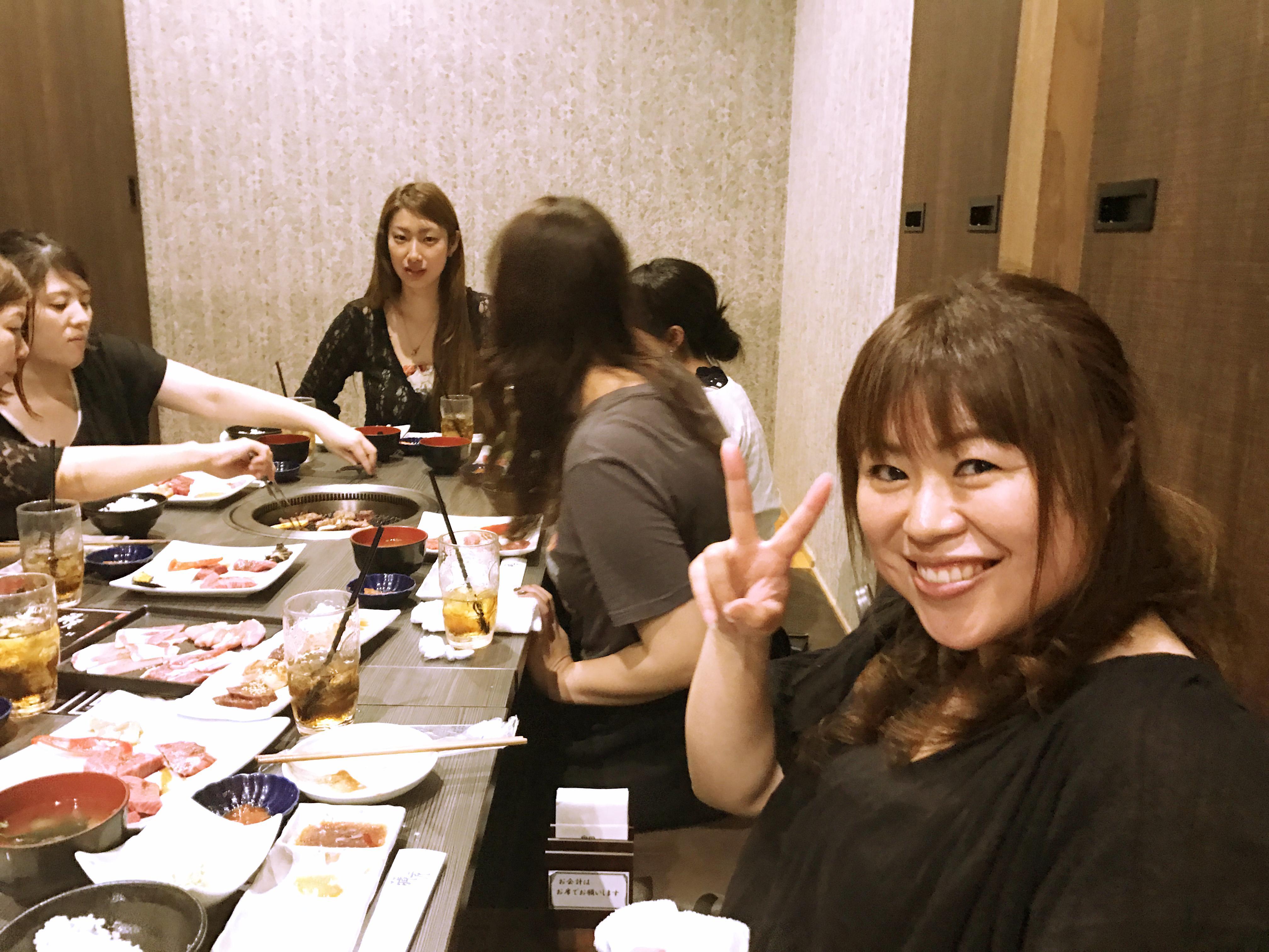 8月19日西区橋本の蔵元でザ・三共電気女子会を行ないました~♪